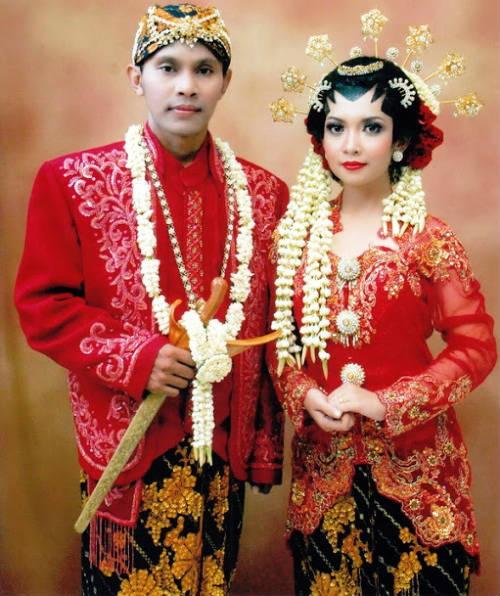 Jenis Pakaian Adat Jawa Timur Pesa An Madura Model Baju Pengantin