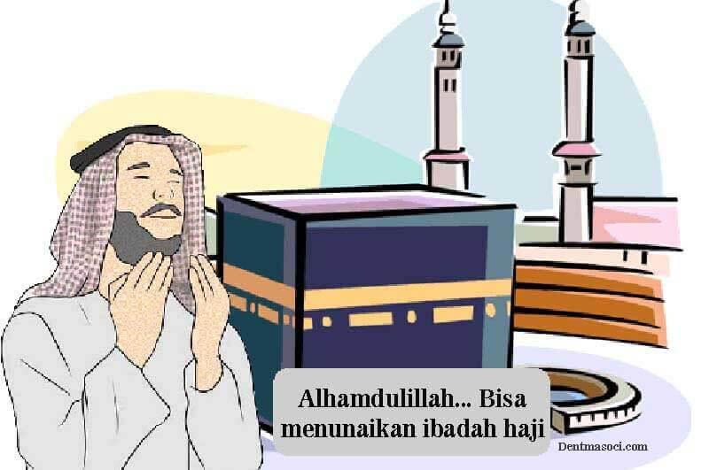 menunaikan ibadah haji