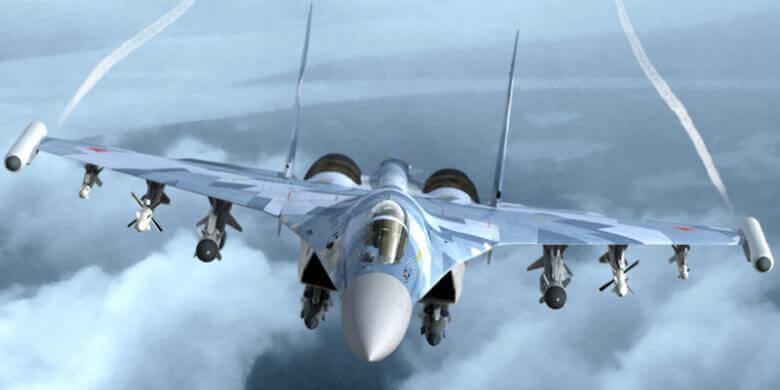 Su-35 Super Flanker rusian