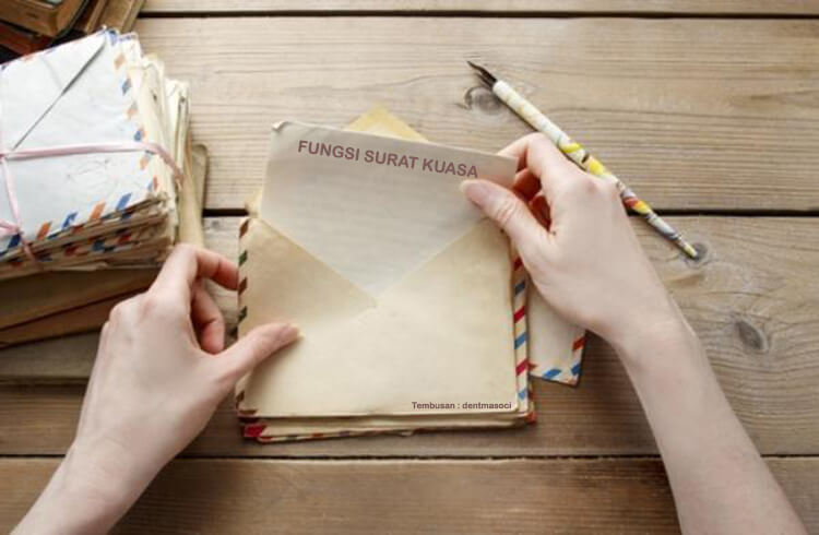 fungsi surat kuasa