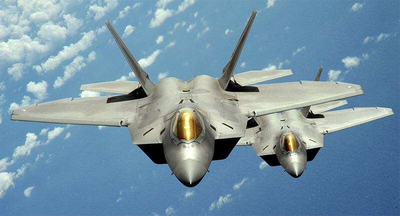 US-F22 Raptors