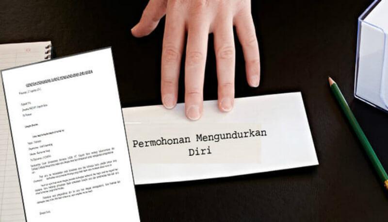 11 Contoh Surat Pengunduran Diri Resign Kerja Yang Baik Dan Benar