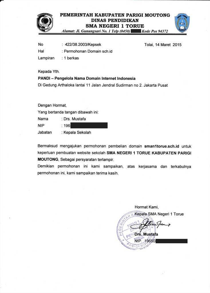 Contoh Surat Permohonan Kerja Modal Usaha Beasiswa Maaf Izin